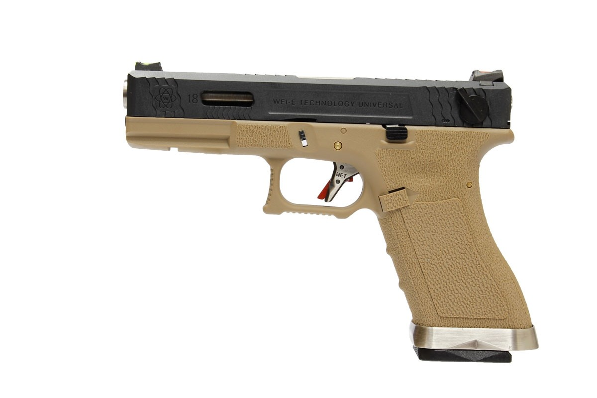 G18C T2 -  BK Slide / SV Barrel / TAN Frame