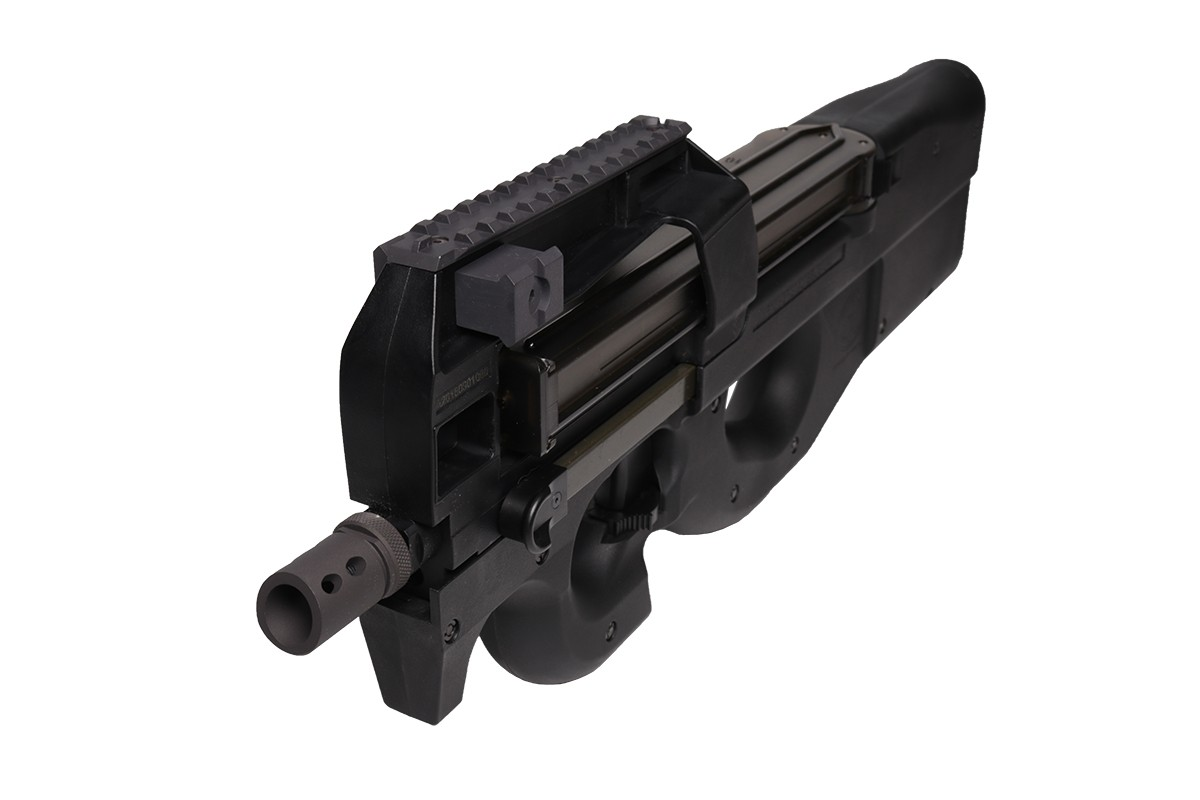 Cybergun P90 Gas Blowback Submachine Gun (Black)