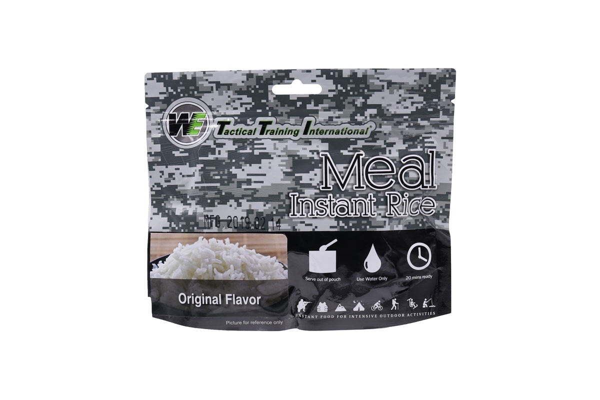 WE Tactical International Instant Rice - Original Flavor