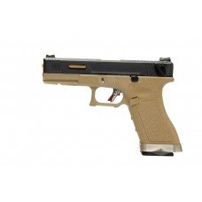 G18C T6 -  BK Slide / GD Barrel / TAN Frame