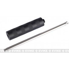 WE 190mm Tight Bore Inner Barrel w/ Mock Silencer for HI-CAPA 1911 PX4 Airsoft GBB
