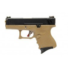 G26 T6 -  BK Slide / GD Barrel / TAN Frame
