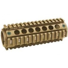100% CNC M4-RAS Handguard (Anodized FDE)