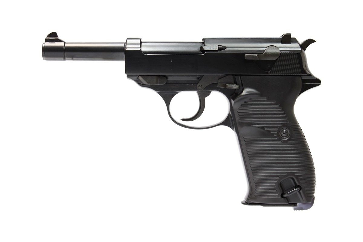 WE P38 Black with UPC (Ultimate Pistol Case)