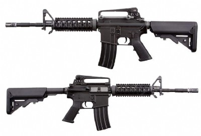 WE M4 RIS AEG (Black)