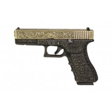 WE G17 Classic Floral Pattern - Bronze - With UPC Display Case