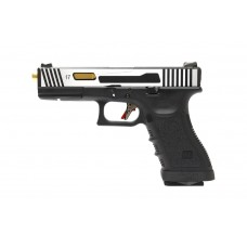 G Hi Speed G17 Gen3 Two Tone (Silver/Black)