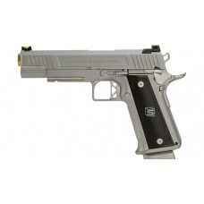 EMG / SALIENT ARMS INTERNATIONAL™ 2011 DS PISTOL (5.1 / ALUMINUM / SILVER) 7MM