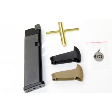 CO₂  Magazine For WE G Series Pistols (Compatible With G17, G18, G19, G23, G34 and G35 Series)
