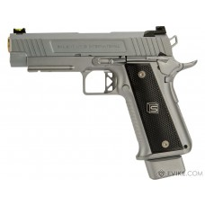 EMG / SALIENT ARMS INTERNATIONAL™ 2011 DS PISTOL (4.3 / ALUMINUM / SILVER) 7MM